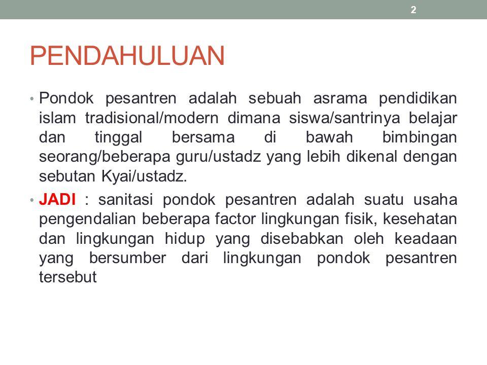Bentuk Pondok Pesanteren Menurut Peraturan Men.Agama No 3/1979 a.