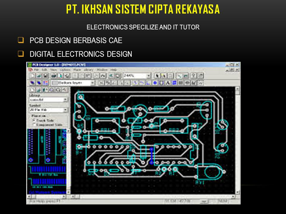 PT. IKHSAN SISTEM CIPTA REKAYASA PCB FILM