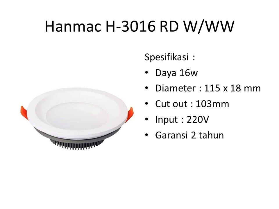 Hanmac H-3008 SQ W/WW Spesifikasi : Daya 8w Size : L95 x W95 x H48 Input : 220v Garansi 2 Tahun