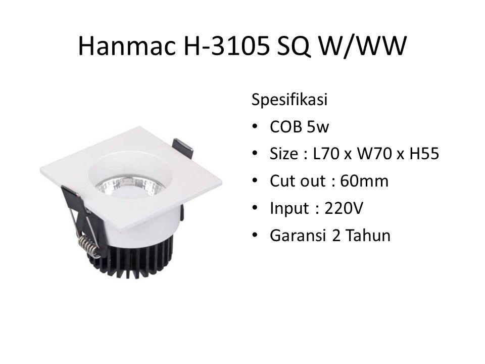 Hanmac H101R Spesifkasi : Daya 1W Input : 220V Decorative Led Wall Garansi 2 Tahun