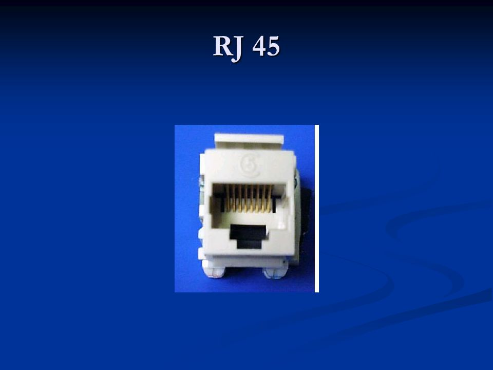 RJ 45