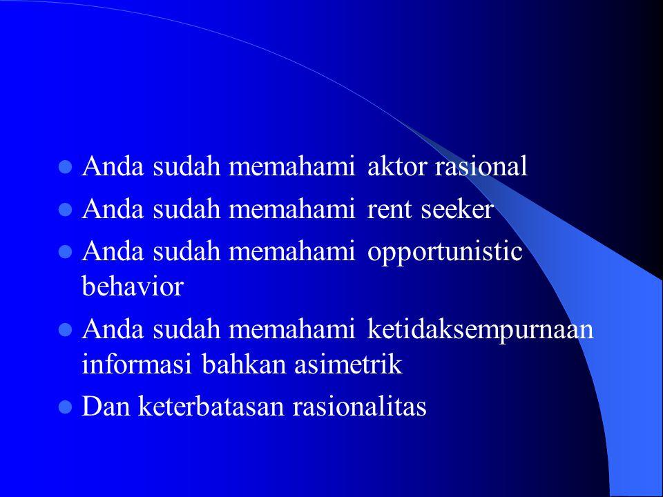 TRANSAKSI To transact = to do business with negotiation Biaya transaksi muncul karena terjadinya kegiatan ekonomi di antara aktor-aktor yang ada dalam masyarakat.