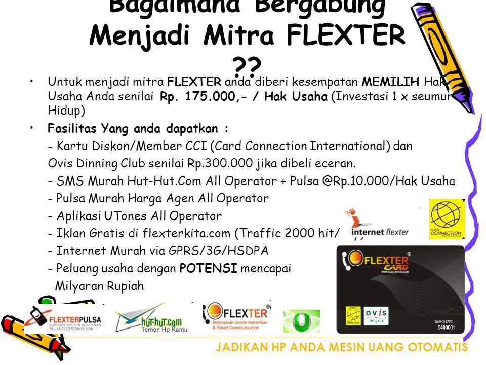 Bagaimana Bergabung Menjadi Mitra FLEXTER ?.