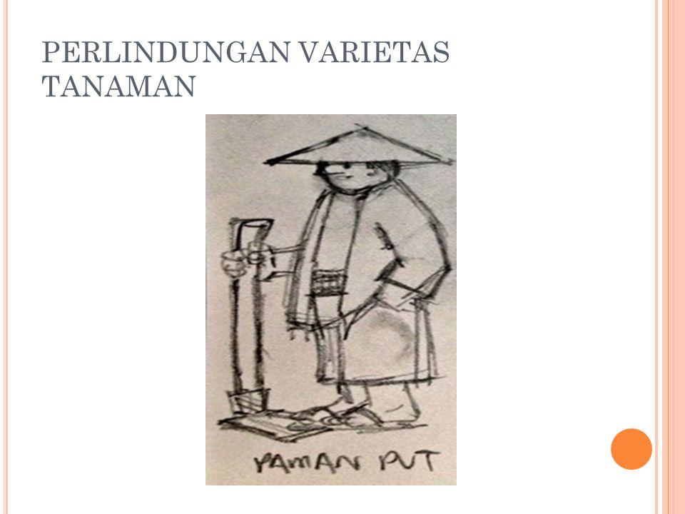 PERLINDUNGAN VARIETAS TANAMAN
