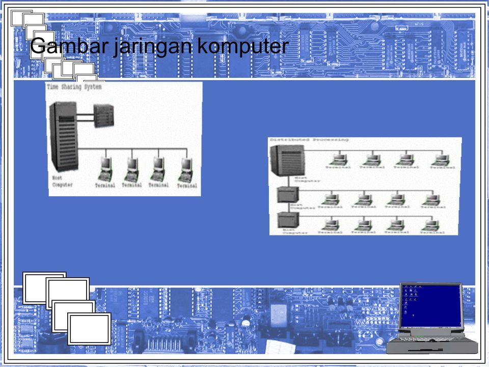 Gambar jaringan komputer