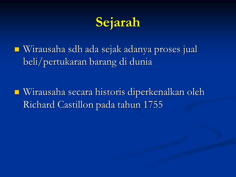 Syarat Fisik Wirausaha Sukses Materi Kuliah Kewirausahaan STIKES Karya Husada By:Bambang Trihono,SE