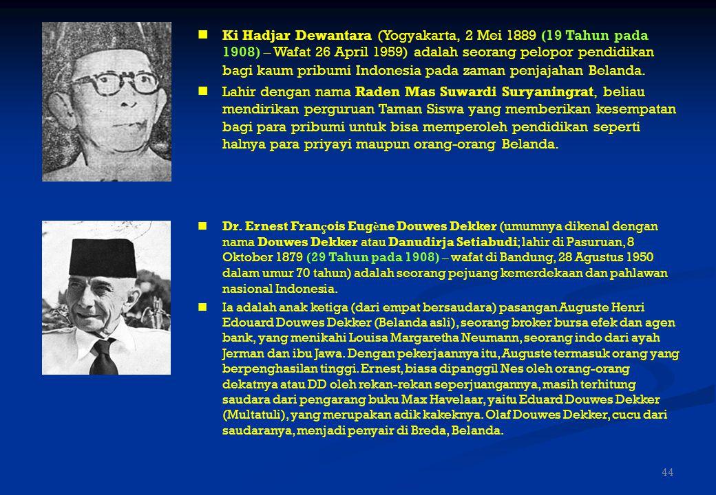 Dr. Soetomo (lahir di Ngepeh, Nganjuk, 30 Juli 1888 (20 Tahun pada 1908), wafat Surabaya, 30 Mei 1938) adalah tokoh pendiri Budi Utomo, organisasi per