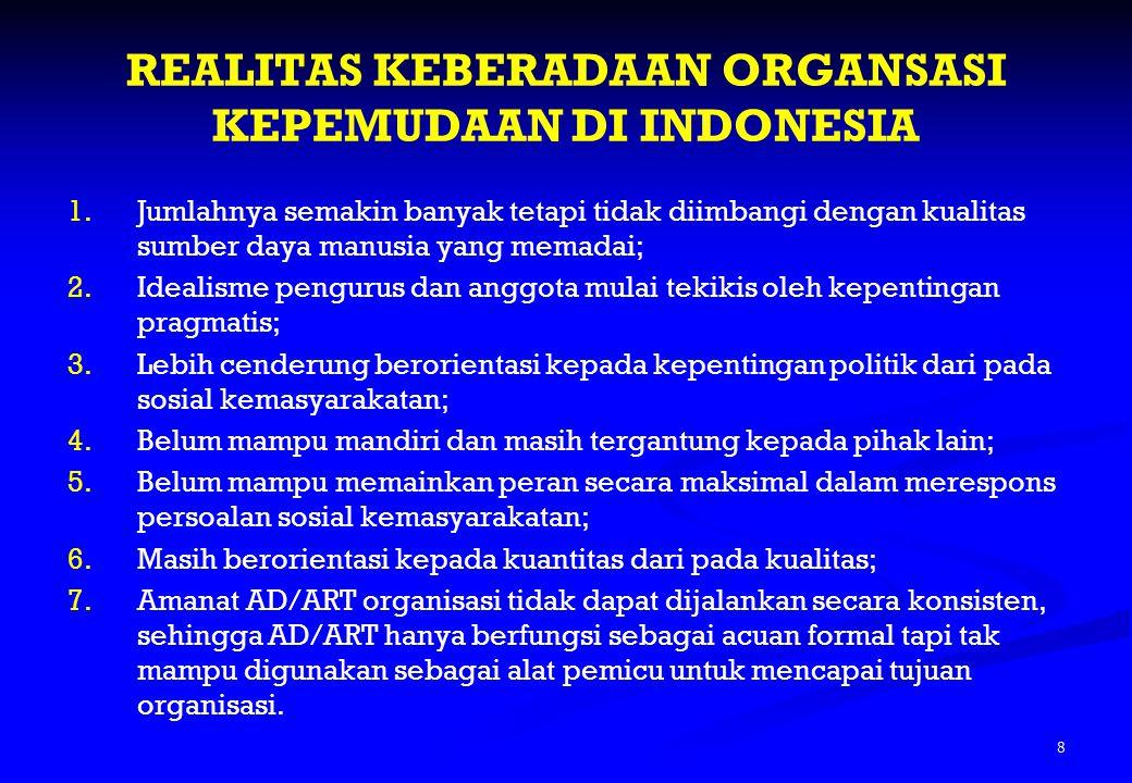 Lanjutan … 2.Melaksanakan konsolidasi organisasi sesuai AD/ART, SK kepengurusan terakhir, dan amanat UU No.