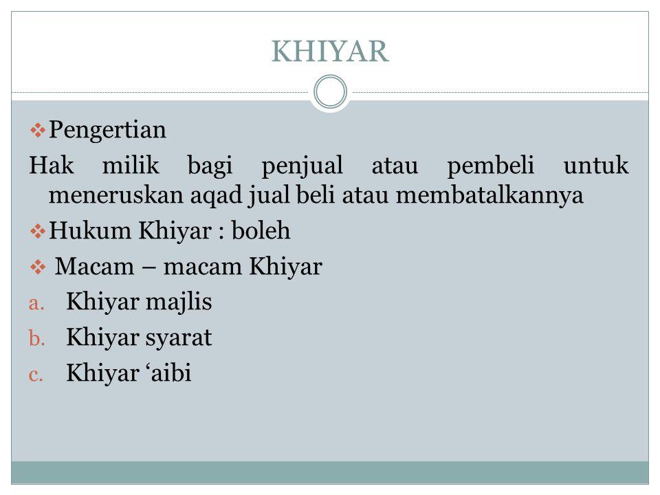 QIRADH  Qiradh menurut bahasa berarti pinjaman atau hutang.