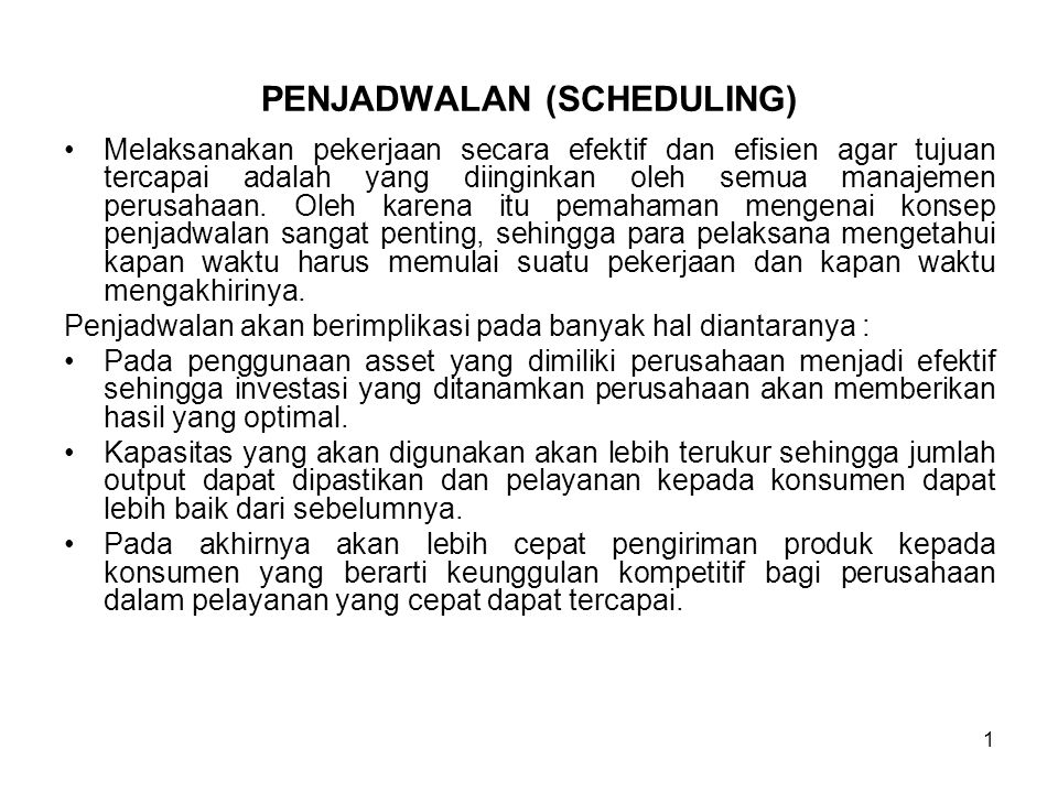 12 Penjadwalan Jangka Pendek ( Short-Term Schedulling) A.