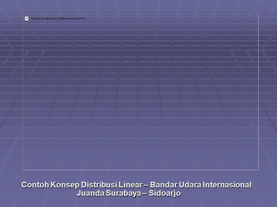 Contoh Konsep Distribusi Linear – Bandar Udara Internasional Juanda Surabaya – Sidoarjo