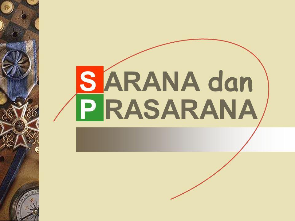 S ARANA dan P RASARANA