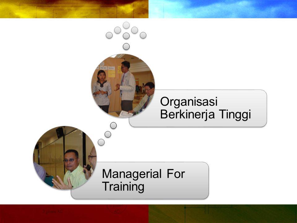 Managerial For Training Organisasi Berkinerja Tinggi