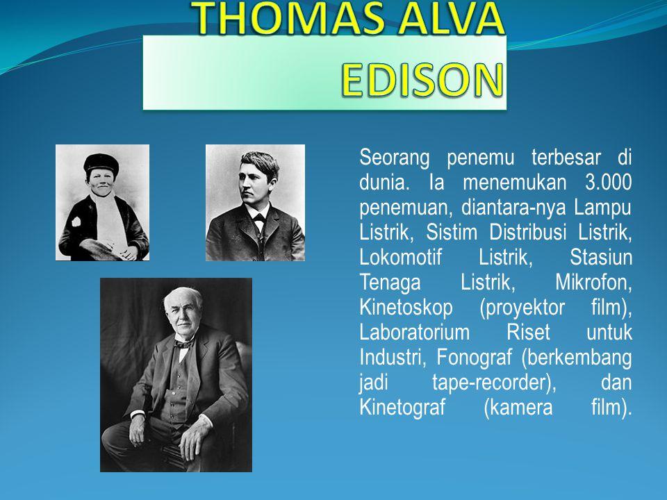  Ia anak bungsu dari tujuh bersaudara, lahir tanggal 11 Februari 1847 di Milan, Ohio, Amerika Serikat.