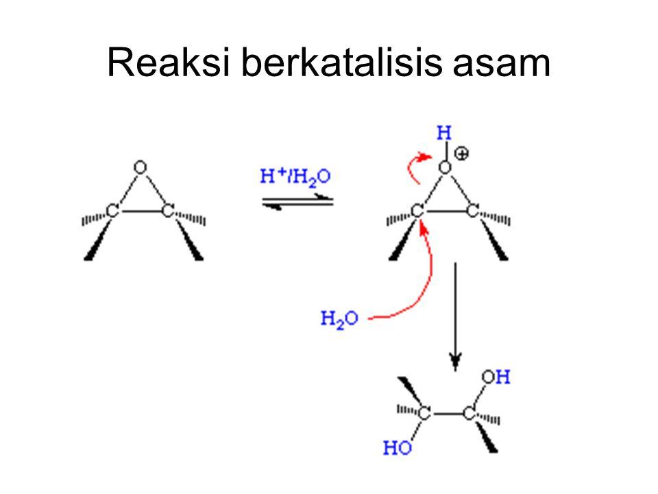 Reaksi berkatalisis asam