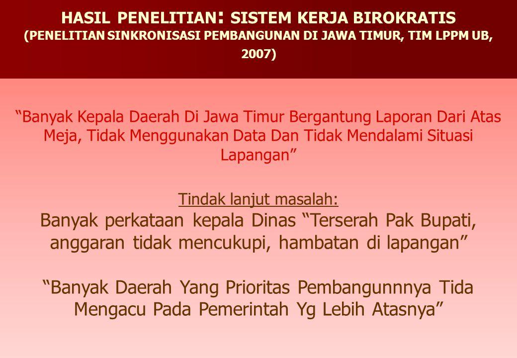 """Banyak Kepala Daerah Di Jawa Timur Bergantung Laporan Dari Atas Meja, Tidak Menggunakan Data Dan Tidak Mendalami Situasi Lapangan"" Tindak lanjut masa"