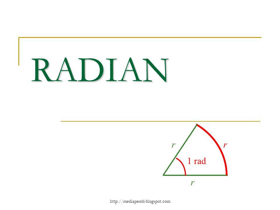 http://mediapemb.blogspot.com RADIAN r rr 1 rad