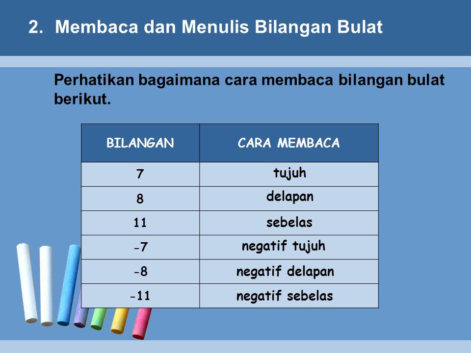3.Membandingkan dan Mengurutkan Bilangan Bulat SEMAKIN KE KANAN SEMAKIN BESAR SEMAKIN KE KIRI SEMAKIN KECIL Perhatikan : 01 2 34567 8910