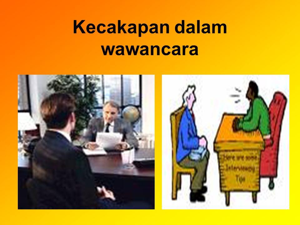 DISKUSI TUGAS a. Persiapan dalam wawancara b. Strategi wawancara c. Keterampilan wawancara