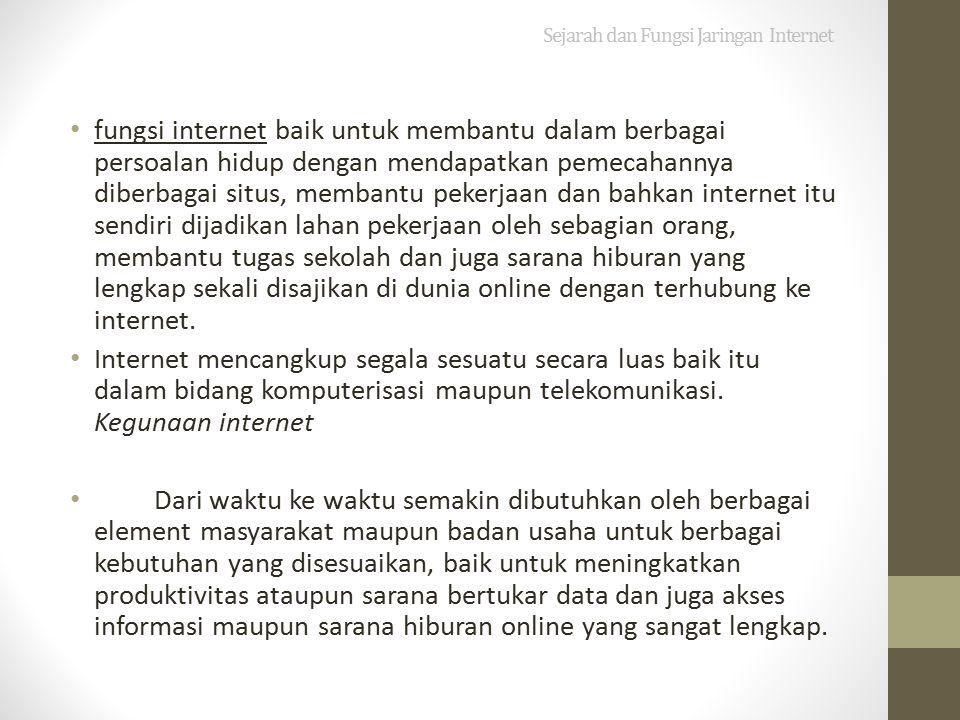 B.Sejarah Perkembangan Internet Beberapa Penemuan Perkembangan Jaringan Internet Terbesar A.