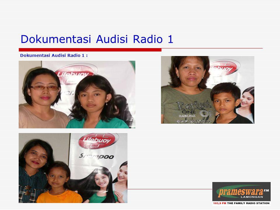 Audisi Radio 2 (Tempat Made IV, tgl 12 Mei 2010) Logo Radio