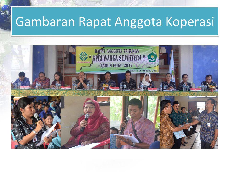 Gambaran Rapat Anggota Koperasi