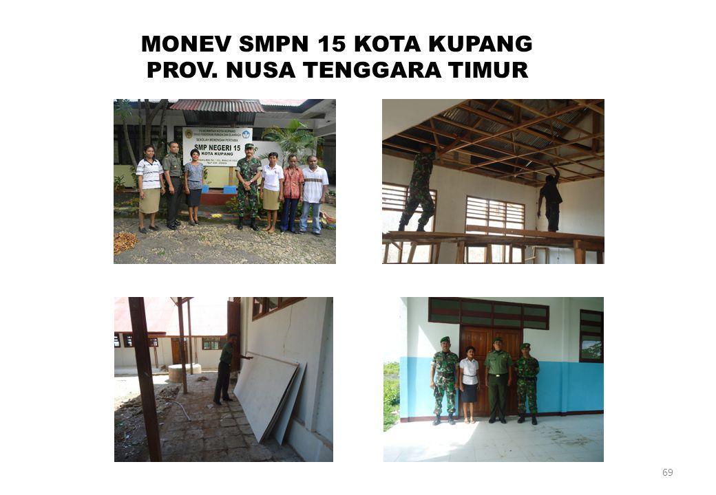 69 MONEV SMPN 15 KOTA KUPANG PROV. NUSA TENGGARA TIMUR