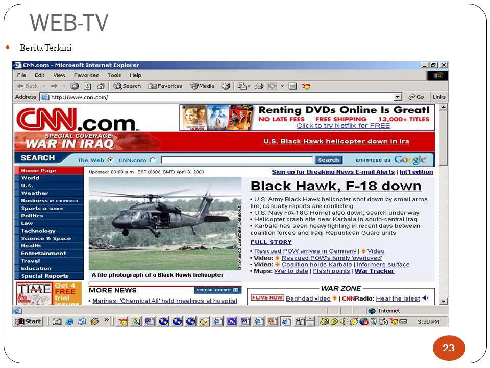 WEB-TV Berita Terkini 23
