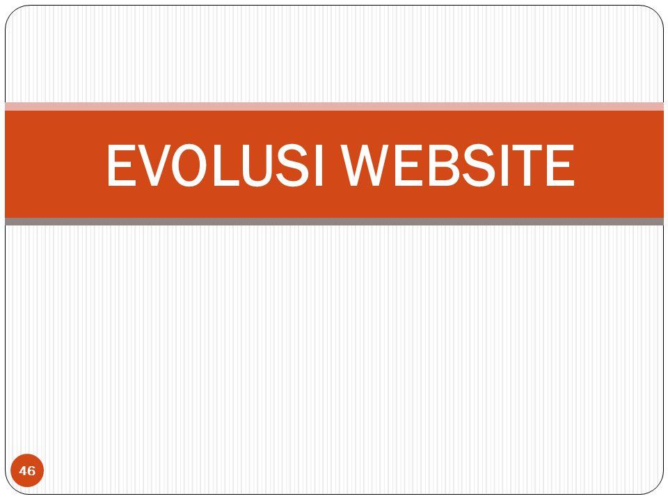 46 EVOLUSI WEBSITE