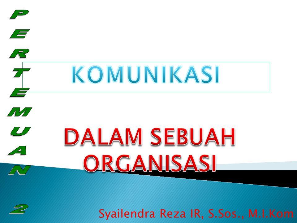 Syailendra Reza IR, S.Sos., M.I.Kom