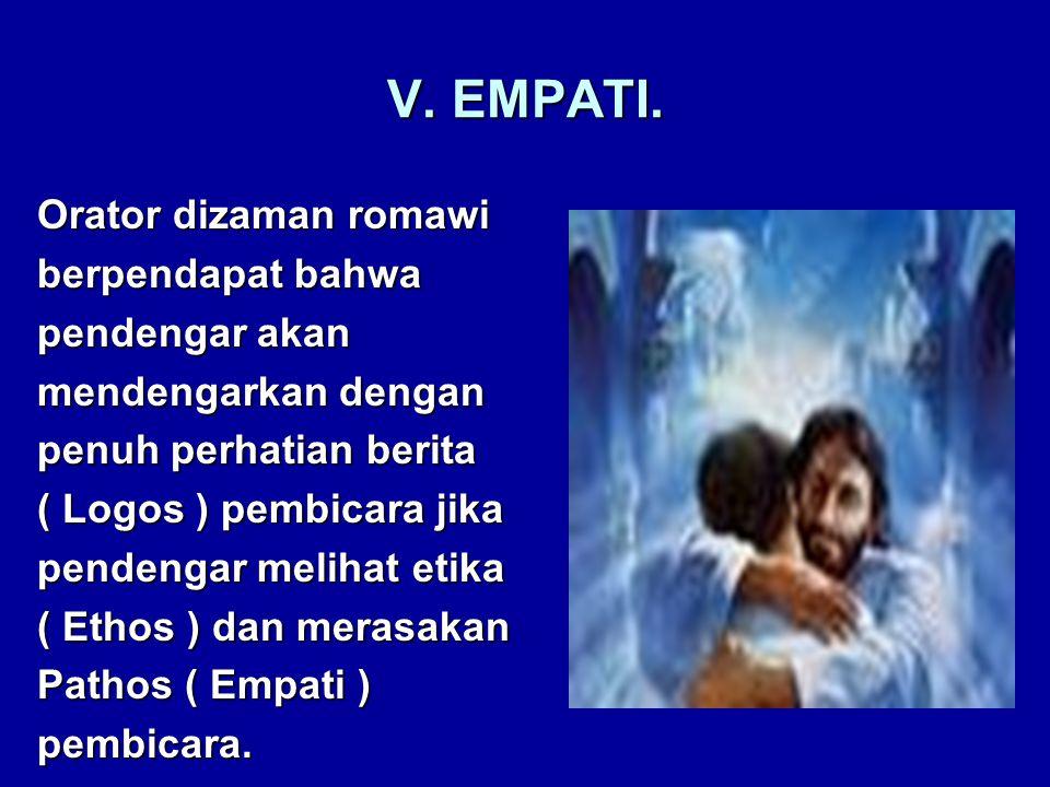 V. EMPATI.