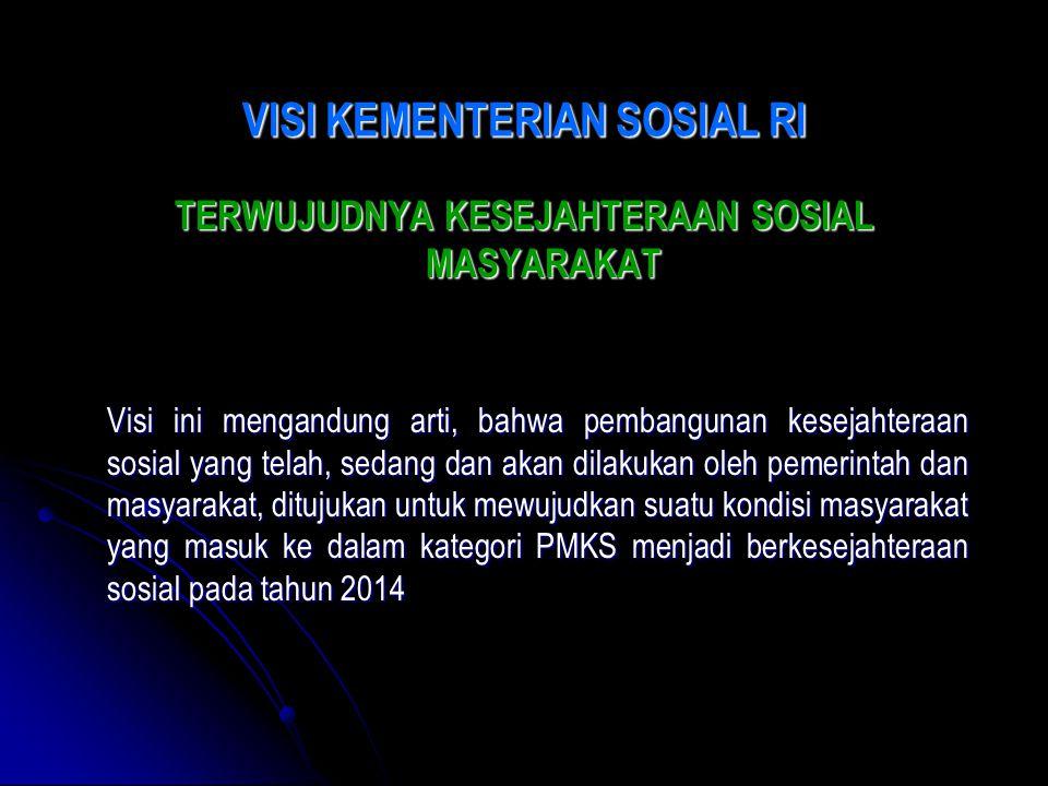 MISI KEMENTERIAN SOSIAL RI 1.