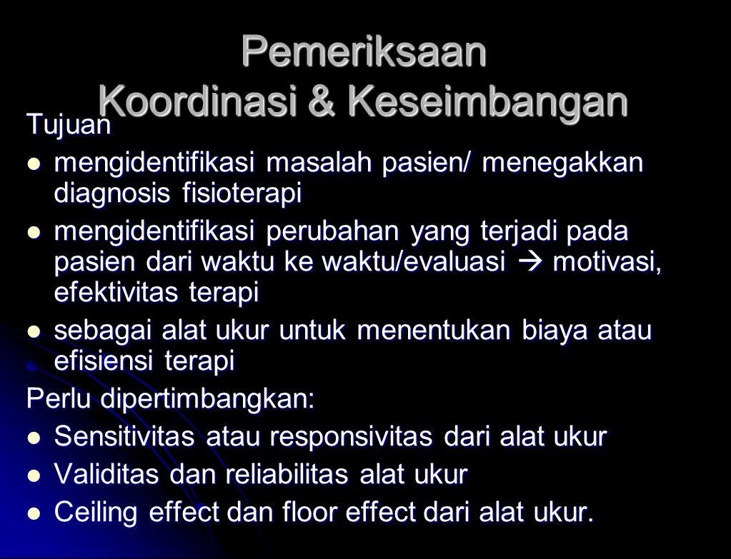 Facilitating vestibular responses 17 +