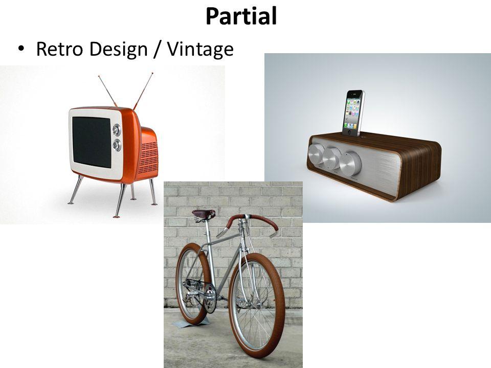 Partial Retro Design / Vintage