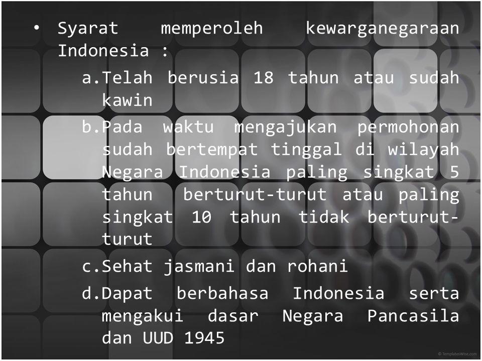 I. Uraian Kasus Kasus yang dibahas kali ini tentang pewarganegaraan yang dilakukan oleh seorang pemain sepak bola yang terkenal yaitu Irfan Bachdim ya