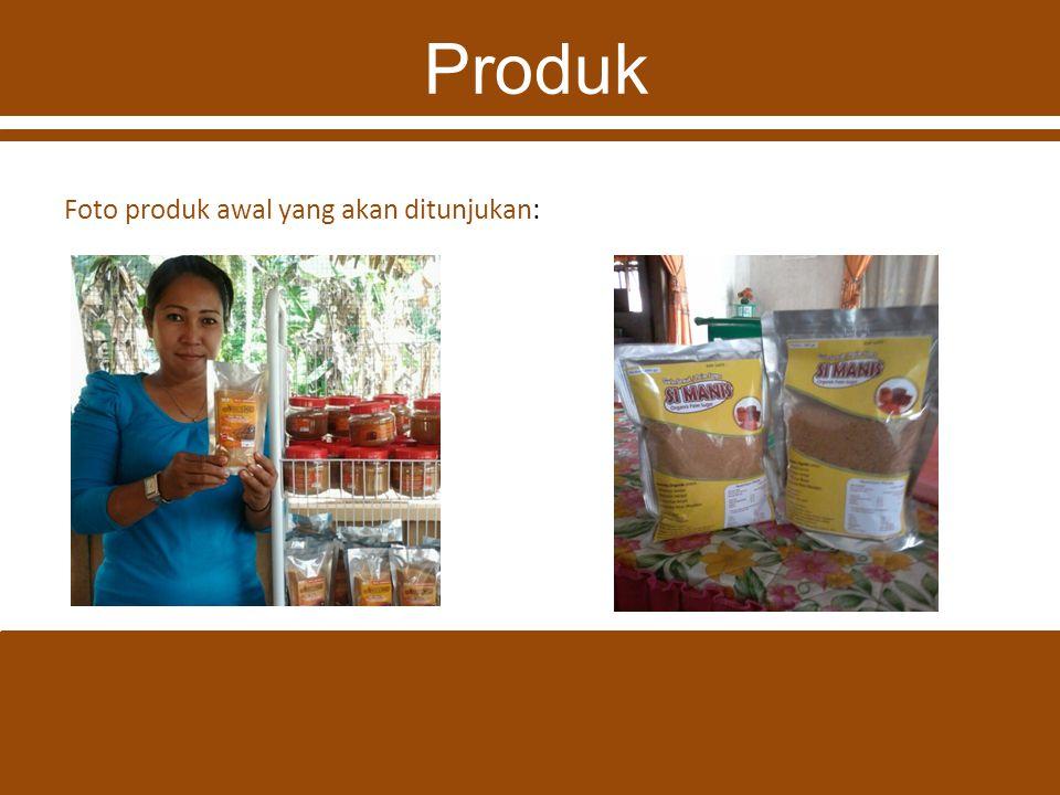 Produk Foto produk awal yang akan ditunjukan: