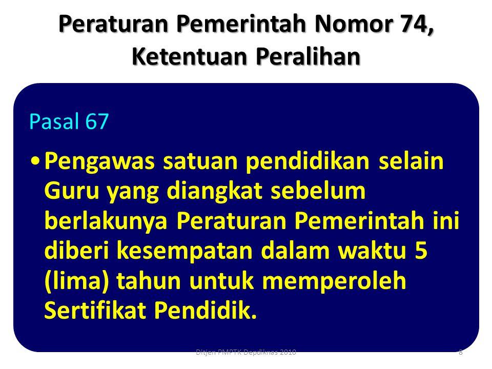 Untuk guru dalam jabatan yang telah mencapai serendah-rendahnya golongan IV/c Diverifikasi kebenaran dan keabsahan SK pangkat/ golongan 19Ditjen PMPTK Depdiknas 2010
