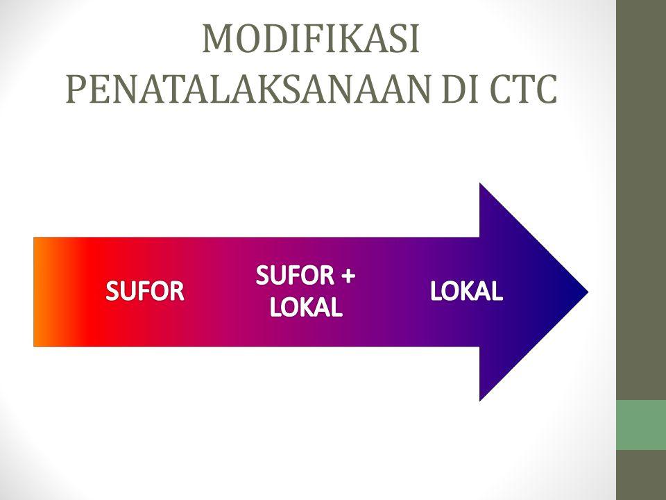 MODIFIKASI PENATALAKSANAAN DI CTC