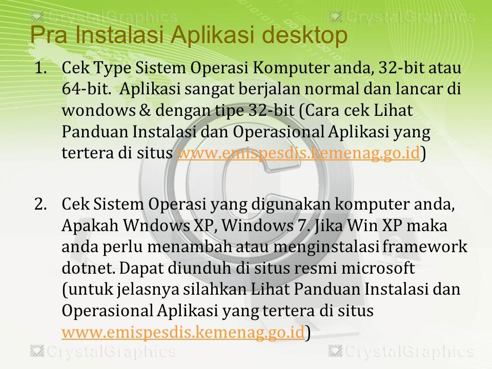 1.Cek Type Sistem Operasi Komputer anda, 32-bit atau 64-bit.