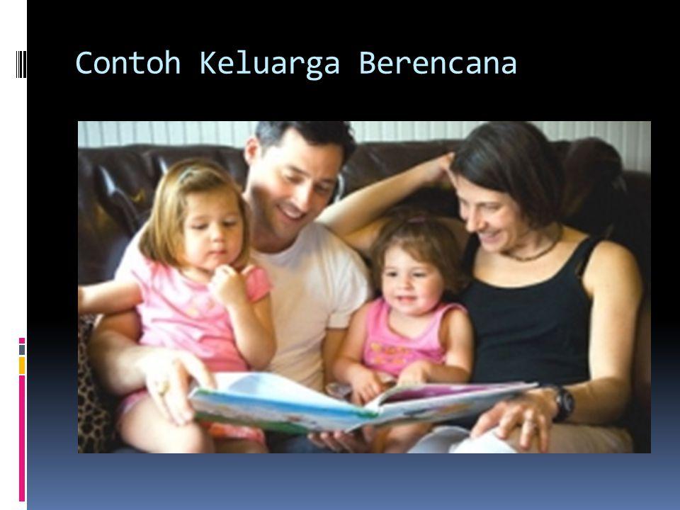 Contoh Keluarga Berencana