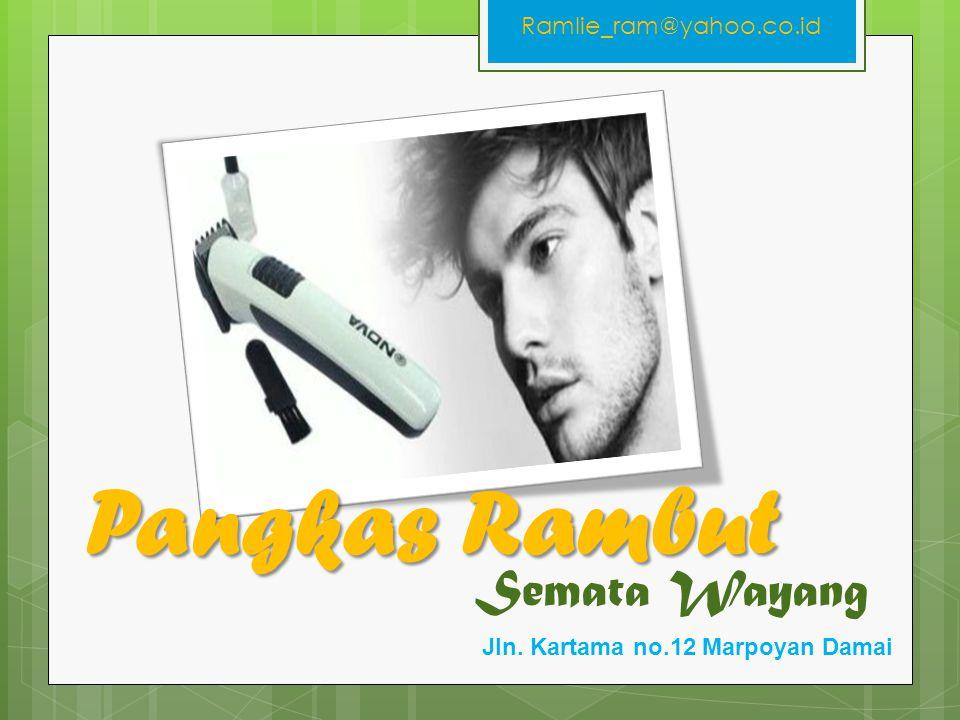 Semata Wayang Pangkas Rambut Jln. Kartama no.12 Marpoyan Damai Ramlie_ram@yahoo.co.id