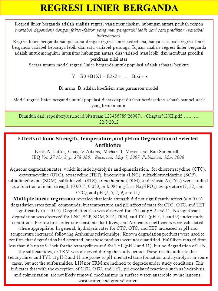 REGRESI LINIER BERGANDA Diunduh dari: repository.usu.ac.id/bitstream/123456789/26987/.../Chapter%20II.pdf ….. ….. 22/8/2012 Regresi linier berganda ad