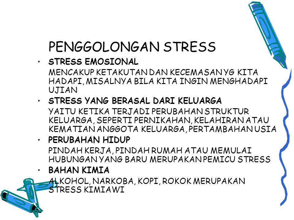 MODEL-MODEL STRESS, KESEHATAN DAN KINERJA MODEL DIRECT ROUTE STRESS DAPAT MENGHASILKAN PERUBAHAN FISIOLO GIS DAN PSIKOLOGIS YANG MEMUNGKINKAN BERKEMBANGNYA PENYAKIT, FISIK.