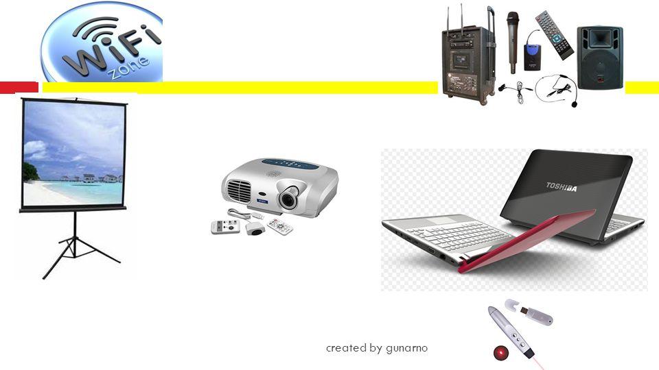 Slide Presentasi yang Efektif  Slide pertama sebagai slide judul sebaiknya dilengkapi nama penyaji, logo organisasi dan tanggal  Gunakan desain, posisi, warna, dan gaya slide yang standard  Gunakan warna-warna yang selaras  Gunakan efek, transisi dan animasi selayaknya created by gunarno
