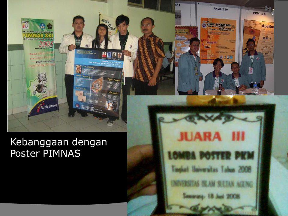 Kebanggaan dengan Poster PIMNAS