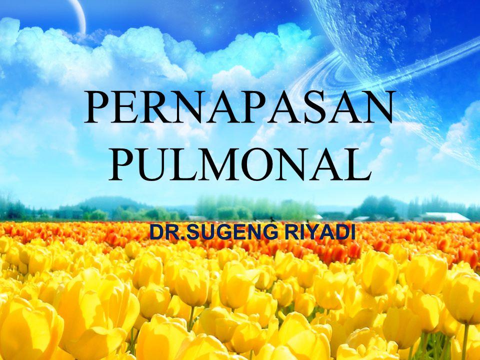 PERNAPASAN PULMONAL DR.SUGENG RIYADI