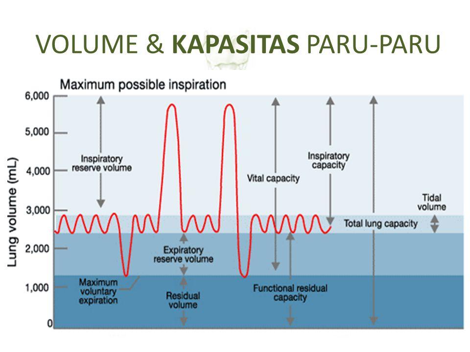 VOLUME & KAPASITAS PARU-PARU