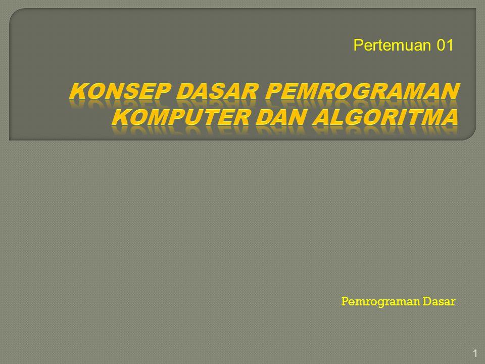 22 DEFINISI MASALAH MEMBUAT MODEL RANCANG ALGORITMA TULIS PROGRAM COMPILE Sintak Err Executable code: => Run Output Err DOKUMEN TASI Y Y T T