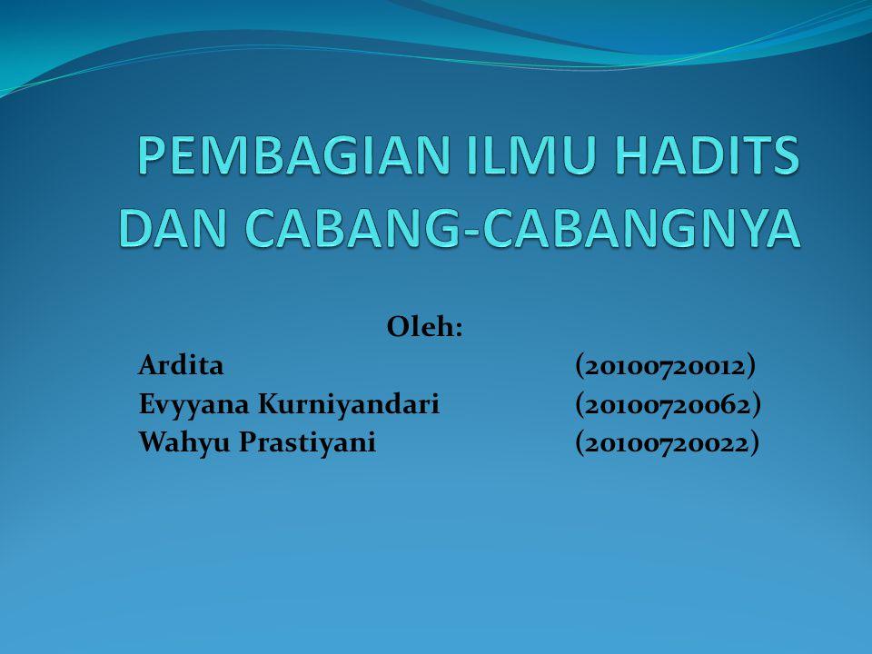 Oleh: Ardita(20100720012) Evyyana Kurniyandari(20100720062) Wahyu Prastiyani(20100720022)