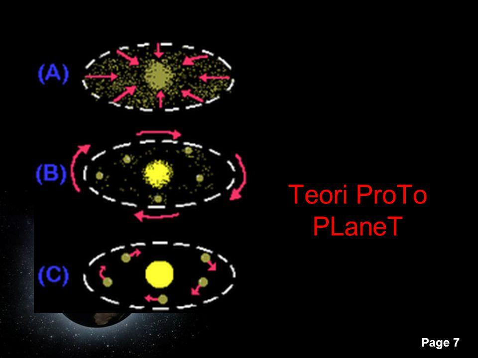 Page 7 Teori ProTo PLaneT